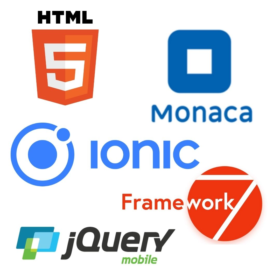 HTML5 Monaca Ionic Framework 7 Technologies