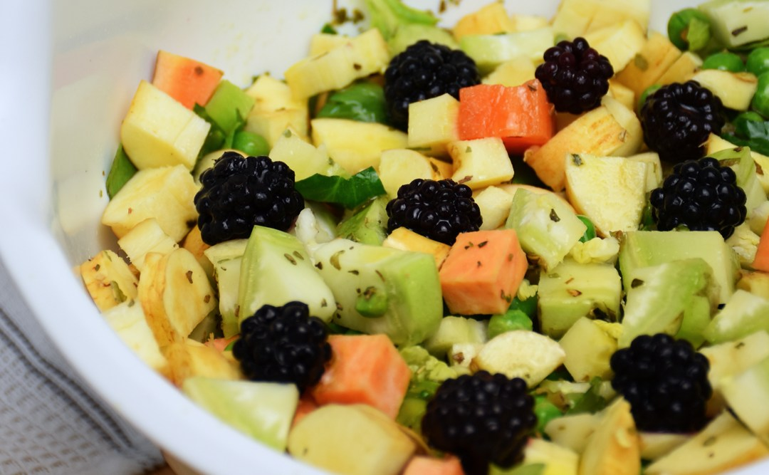 Why We Cook Fruit & Vegetables in Homemade Dog Food