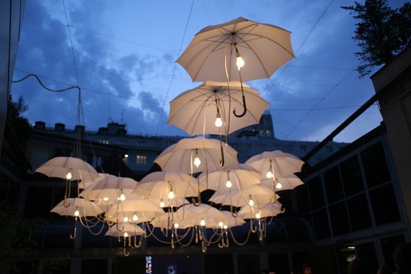 Umbrella in Wedding Decoration