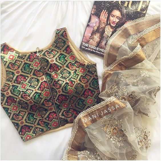 Saree and Blouse Styles ForBridesmaids