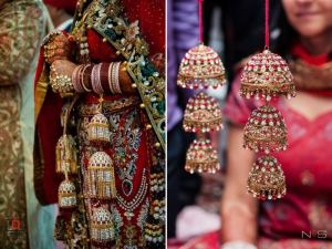 flaunting wedding accessory