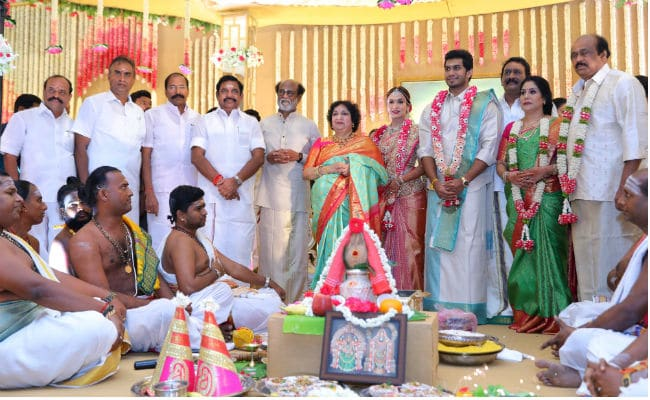 Soundarya Rajinikanth And Vishagan Vanangamudi's Wedding