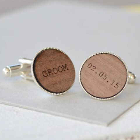 Personalise groom wedding outfit