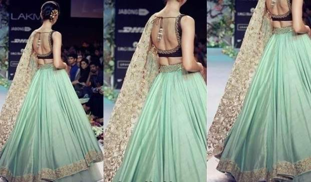 unique lehenga colors
