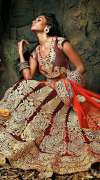 Red Bridal Lehnga