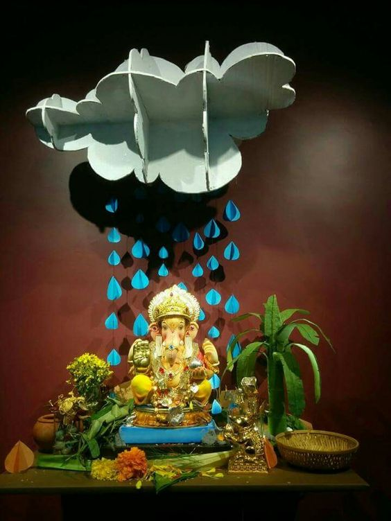 30 Ganesh Chaturthi Vinayagar Chaturthi Decorative Ideas Wedandbeyond
