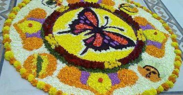 34. Butterfly pookolam