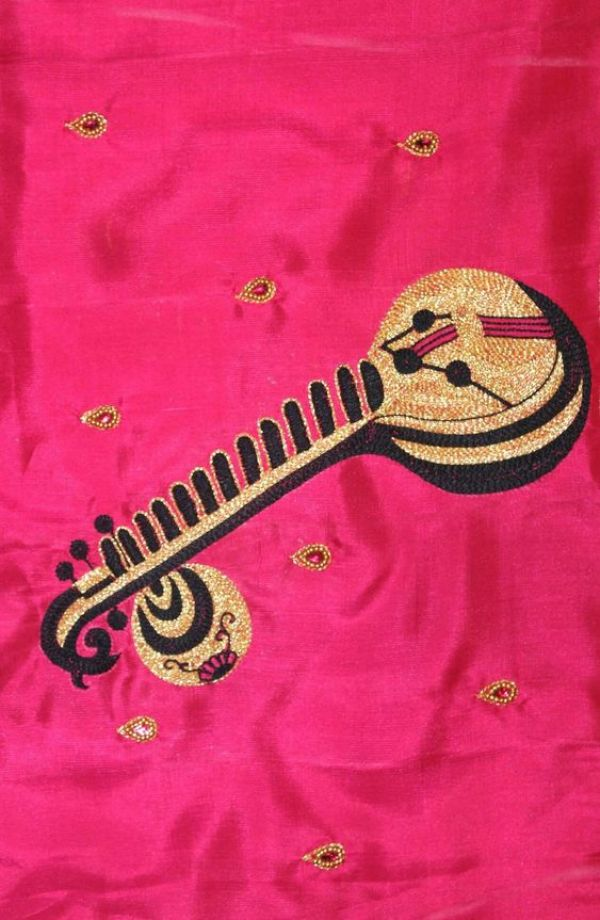 18.Musical instrument blouse #design 18