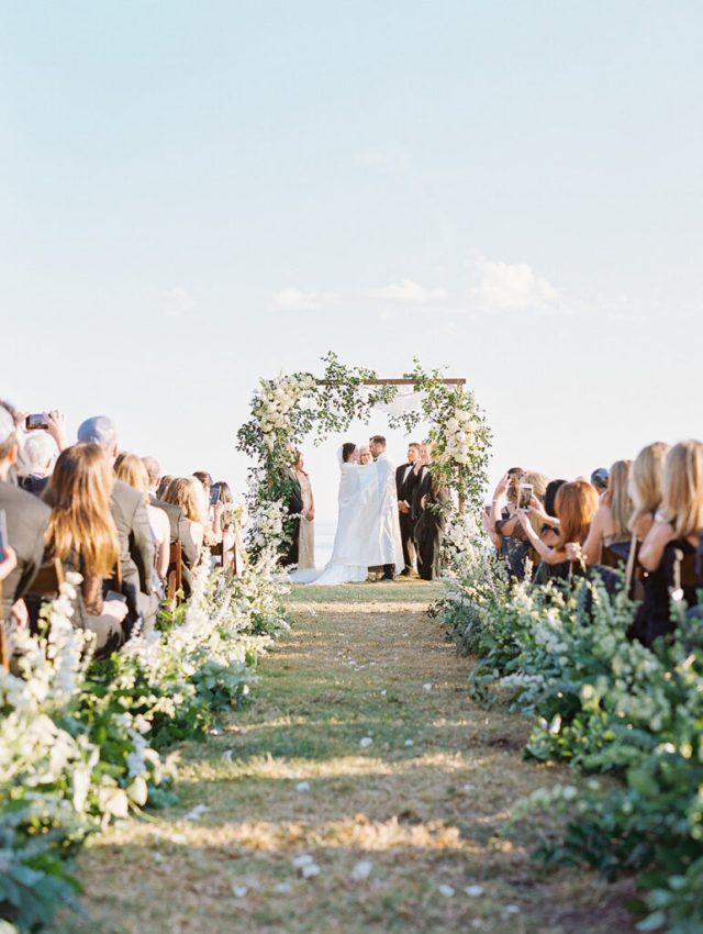Couple de mariage juif sous la chuppah