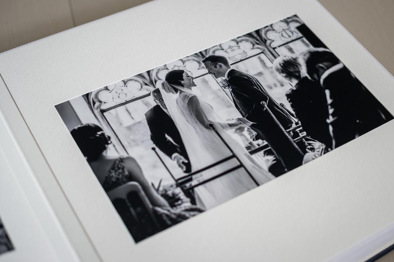 page of queensberry wedding album