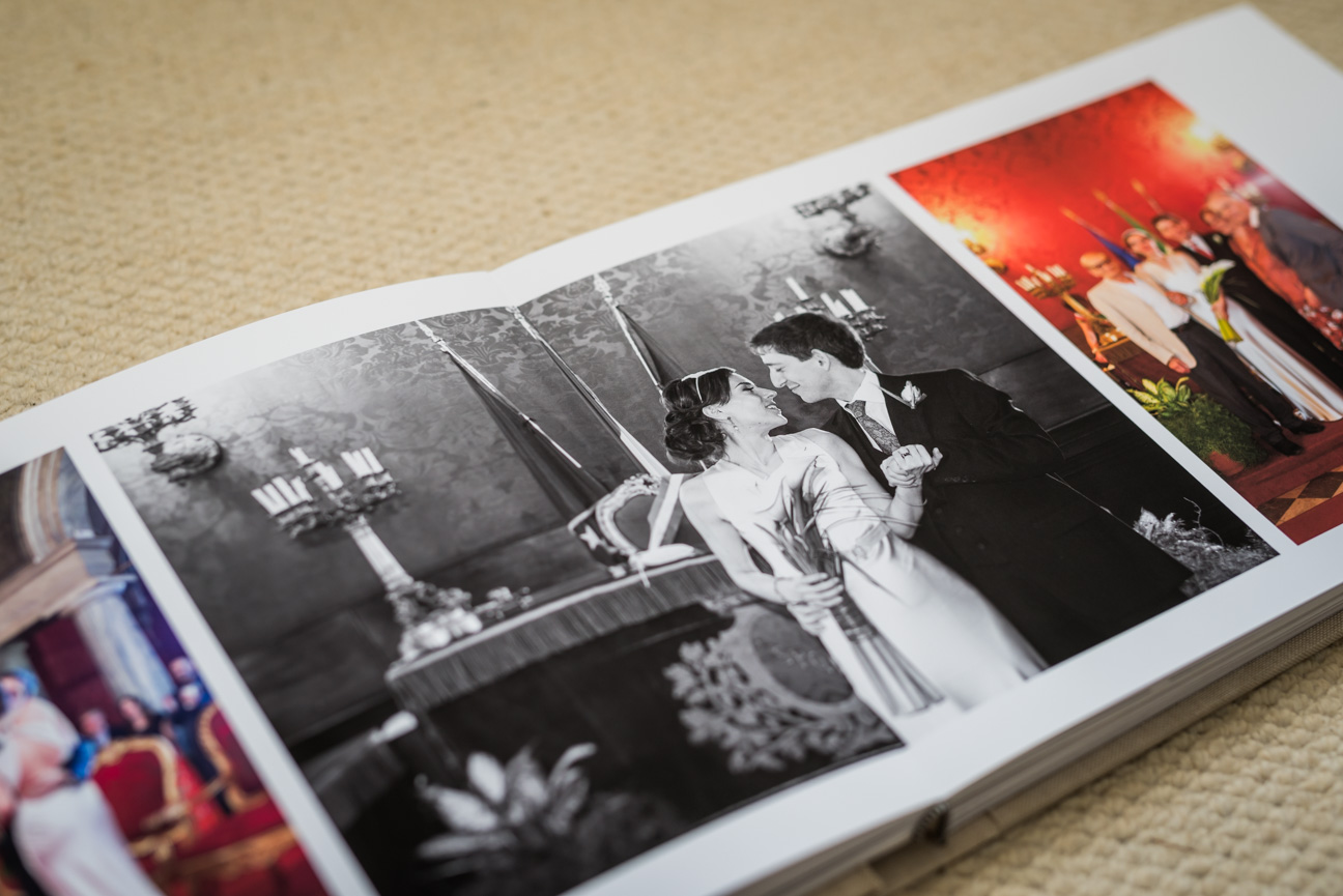 photo in jorgensen komplet fine art wedding album.
