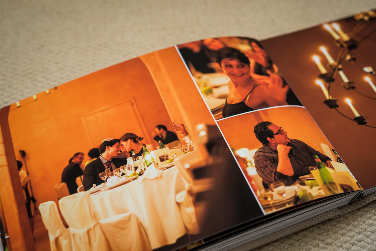 wedding photos in jorgensen komplet fine art album
