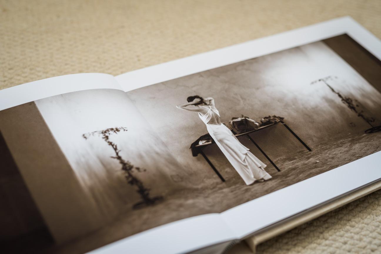 A Rectangular Jorgensen Komplet Fine Art Album Wedding Album Design