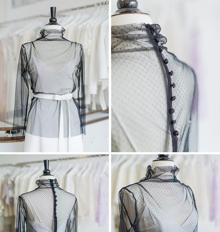 Braut-Oberteile Louna | La Robe Marie | Kollektion 2016