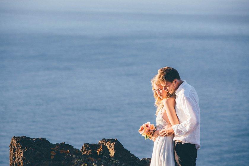 La Gomera, Brautpaar, Hochzeit auf den Kanaren
