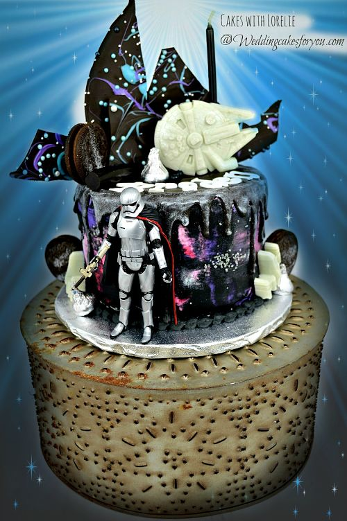 Easy Star Wars Cakes With Cool Cake Decorating Techniques