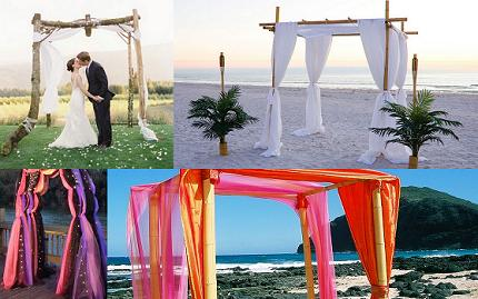 How To Decorate A Arch For Wedding Decorations Ideas The