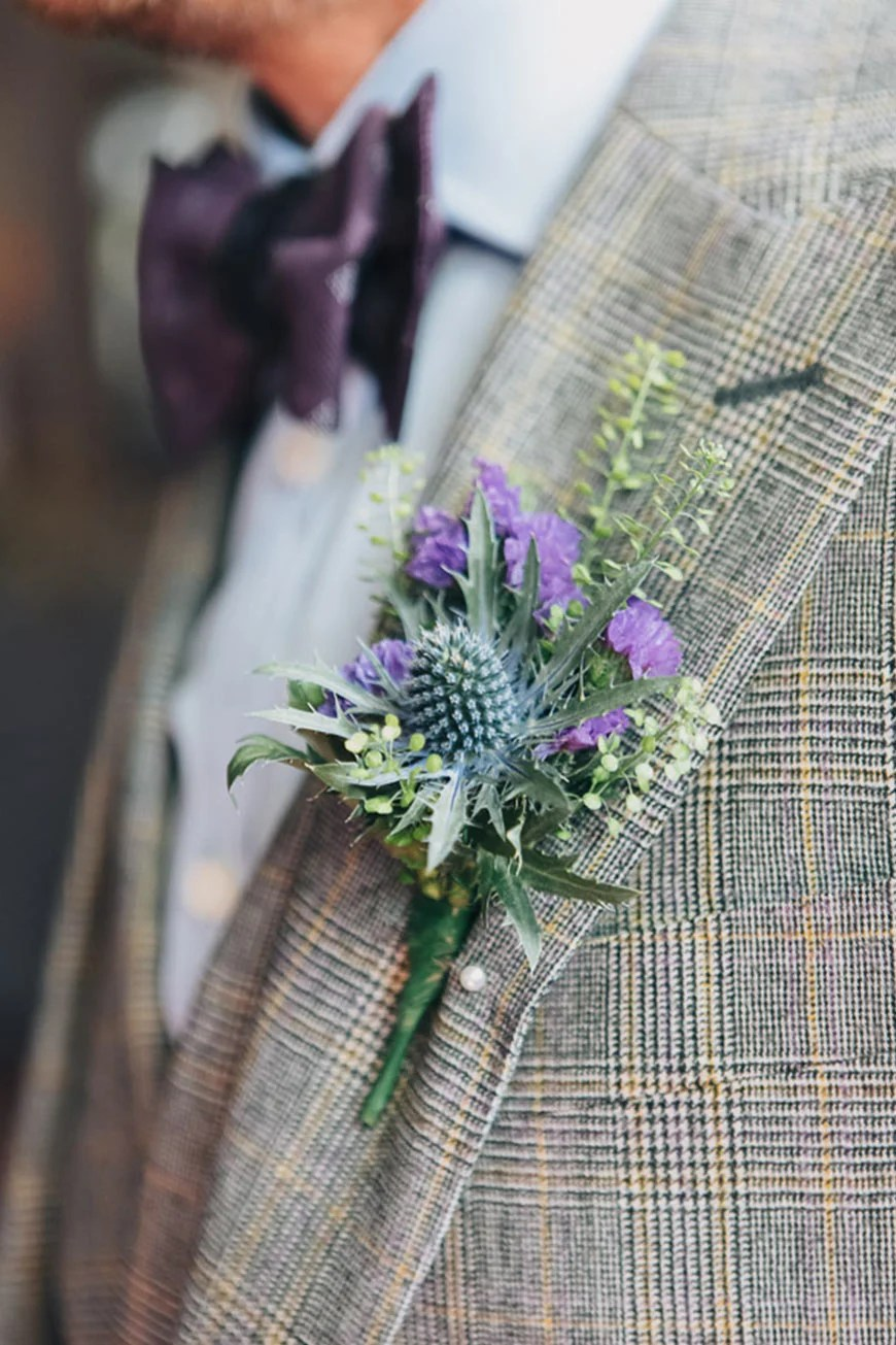 Purple Wedding Suits And Accessories Wedding Ideas By