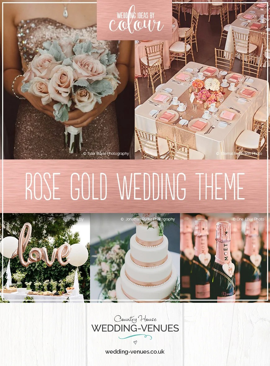 wedding ideas by colour rose gold wedding theme chwv