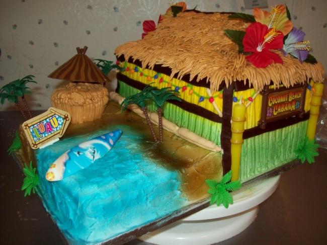 Pleasing Beach Themed Birthday Cake Ideas Kids Coolest Kid Birthday Cake Personalised Birthday Cards Arneslily Jamesorg