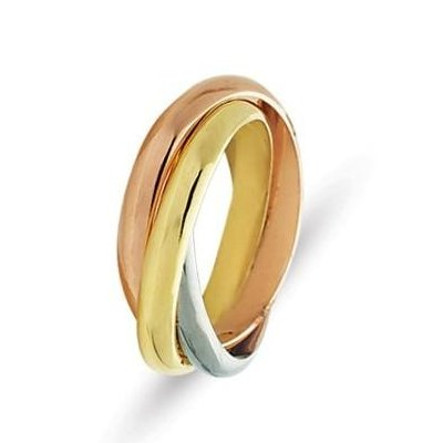 Gold Wedding Rings Tri Color Gold Wedding Rings