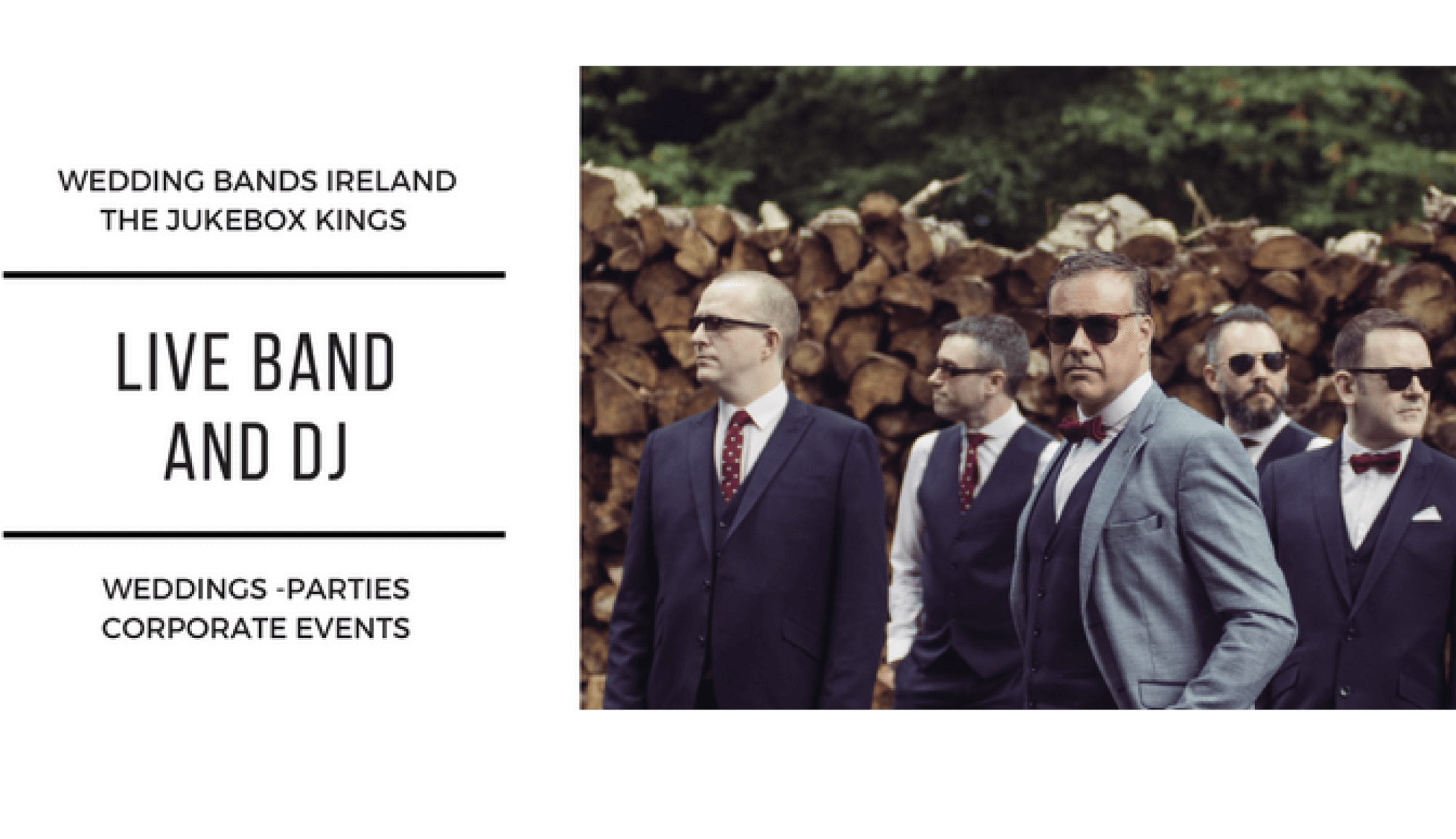 Wedding Bands Dublin The Jukebox Kings Publicity Photo