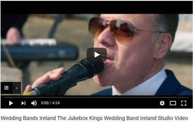 Wedding Bands Ireland The Jukebox Kings You Tube Video Still