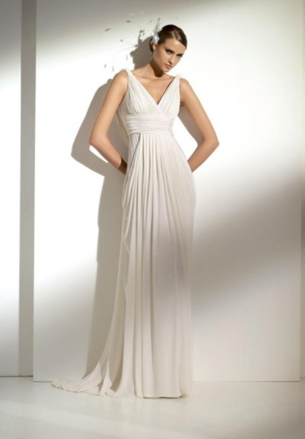 Casual Beach Wedding Gown