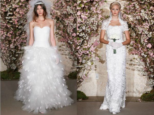 Oscar de la Renta's Spring 2012 Bridal Collection