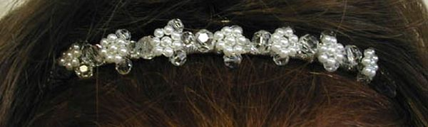 Rosina bridal tiara