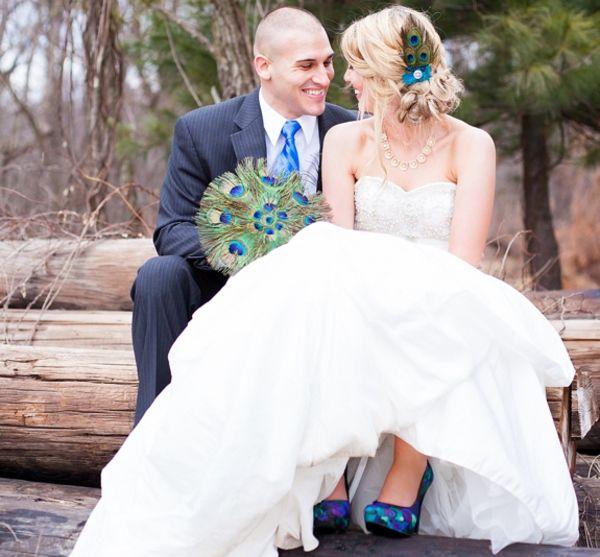 Peacock Themed Wedding _1