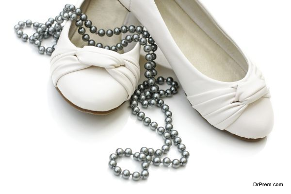 White lady's shoes