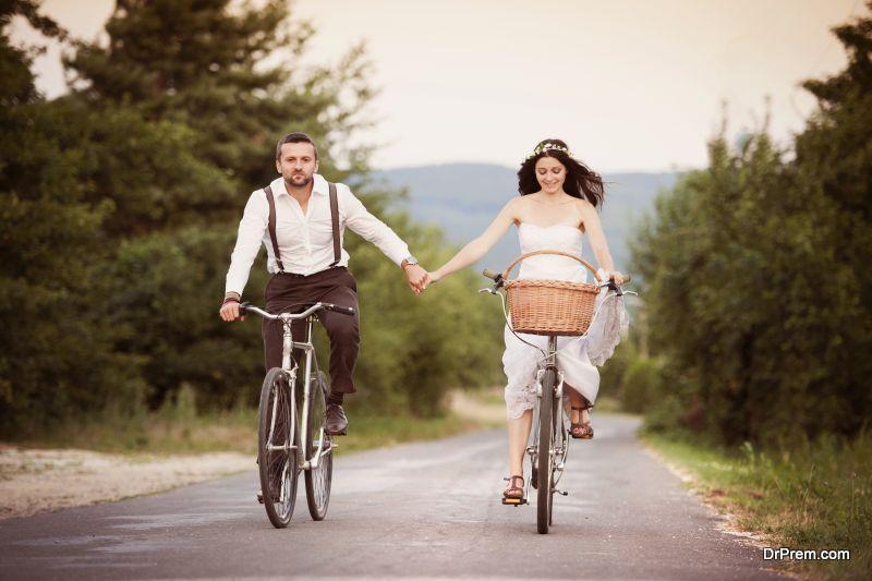 Head out on a bike