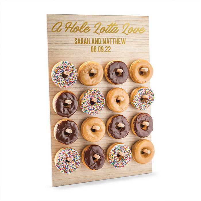 Download Donut Wall hout A Hole Lotta Love gepersonaliseerd ...