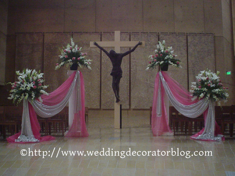 Church Altar Decoration With Sarees Billingsblessingbags Org