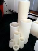 Round candle luminaries.