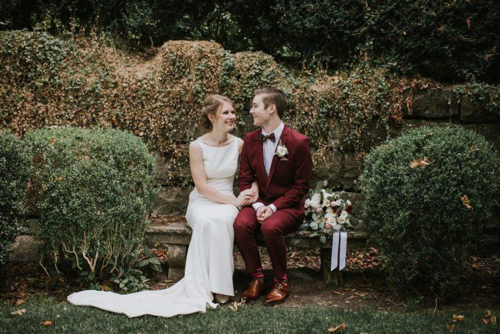 Intimate Garden Wedding at Deepwood Estates