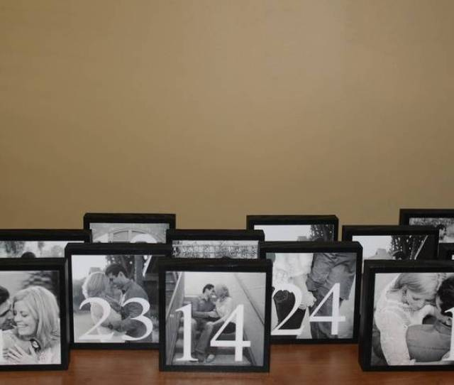 Clever Table Number Ideas