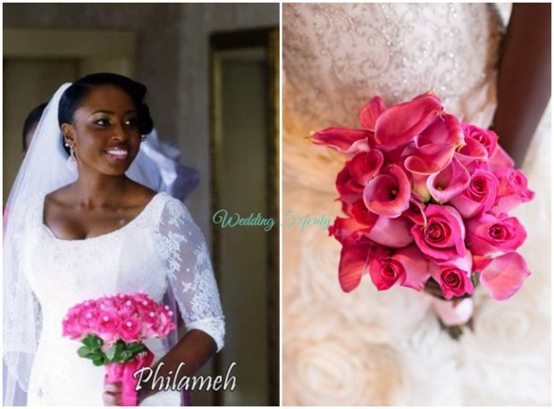 bridal-bouquet-flowers-wedding-feferity-nigerian-bride