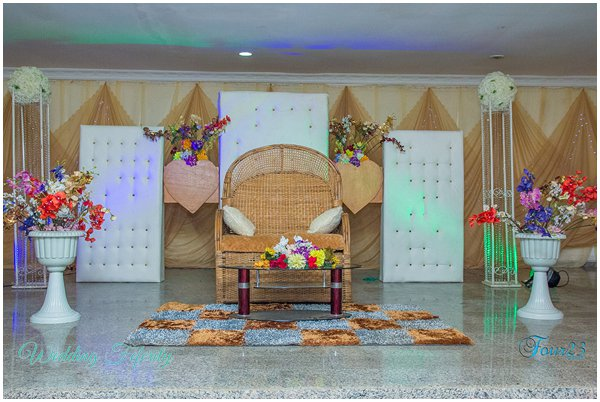 Nigerian Traditional Wedding Decor 0002