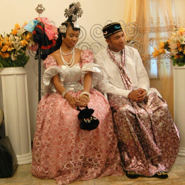 efik bride and groom