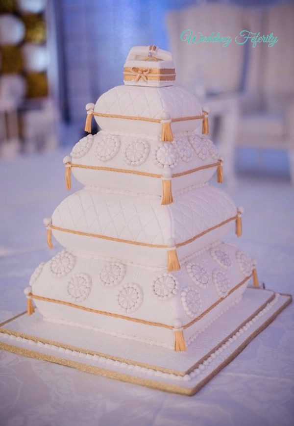 55 Breathtaking Traditional Nigerian Wedding Cakes Of 2017