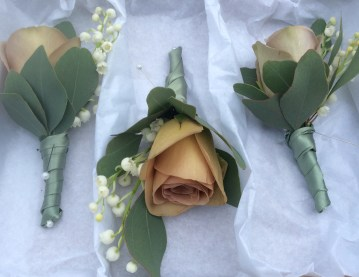stems covered buttonholes
