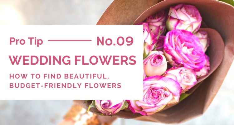 Choosing beautiful, budget-friendly wedding flowers - weddingfor1000.com