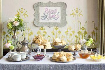 Wedding Biscuit Buffet