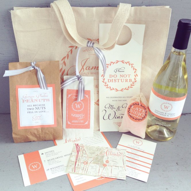 10 Creative Welcome Bag Ideas Unique Wedding Gift Bags For Destination Weddings Texas