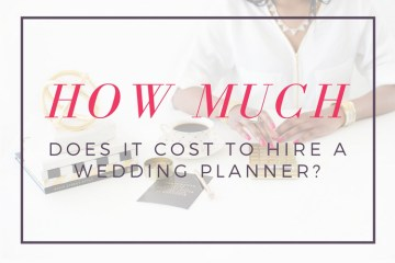 How much does it cost to hire a wedding planner? It depends on what you want them to do. weddingfor1000.com has the details!