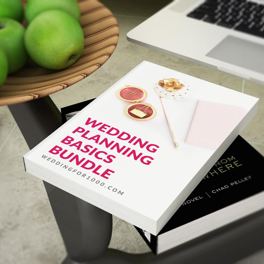 Wedding Planning Basics Bundle Wedding For 1000