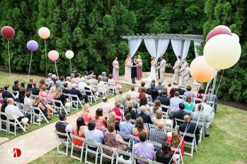 Lessons Learned While Planning My Own Outdoor Wedding - a real wedding on weddingfor1000.com