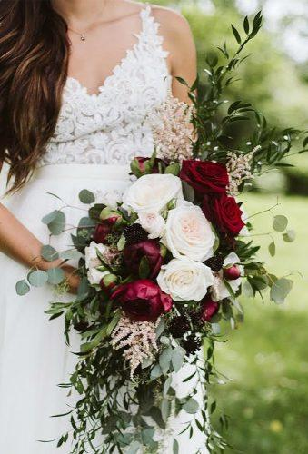 elegant wedding bouquets marsala bouquet leroyfrenchflowers